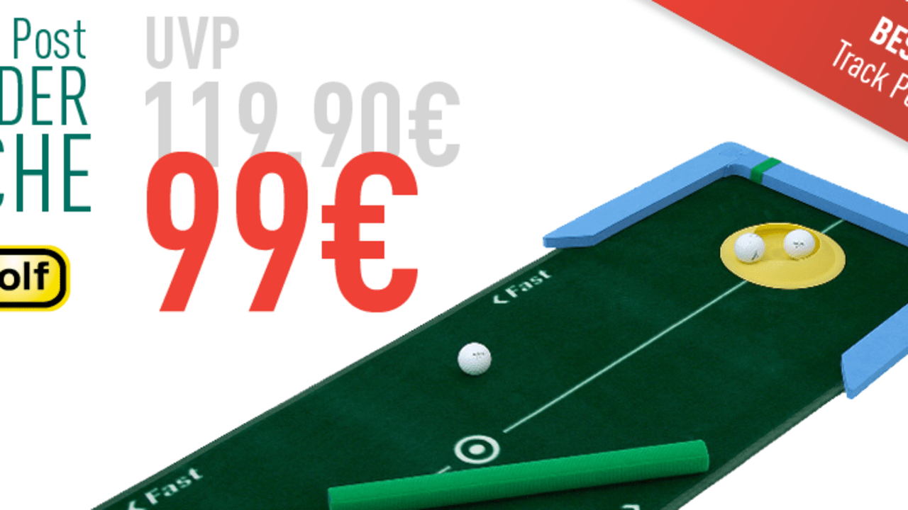 Deal der Woche mit all4golff (Foto: Golf Post)