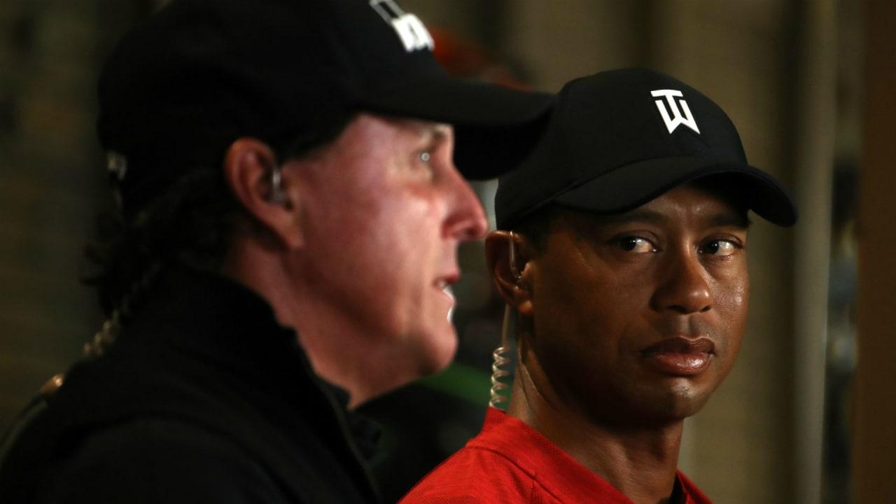 Tiger Woods und Phil Mickelson gehören zu den größten Rivalitäten im Golfsport. (Foto: Getty)