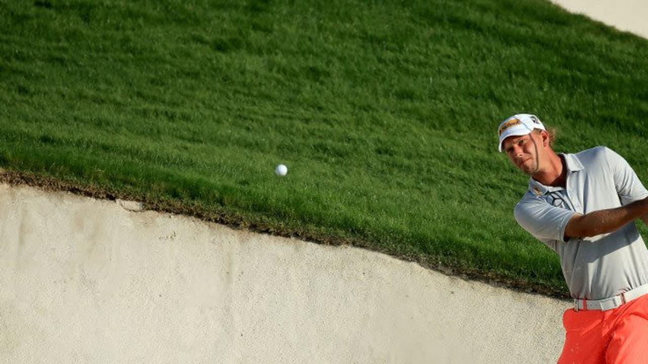 Es ist sein Debut bei der Nedbank Golf Challenge und viel besser hätte Marcel Siem sich am ersten Tag nicht positionieren können. Der Deutsche spielt sich am ersten Tag auf einen geteilten zweiten Platz. (Foto: Getty)