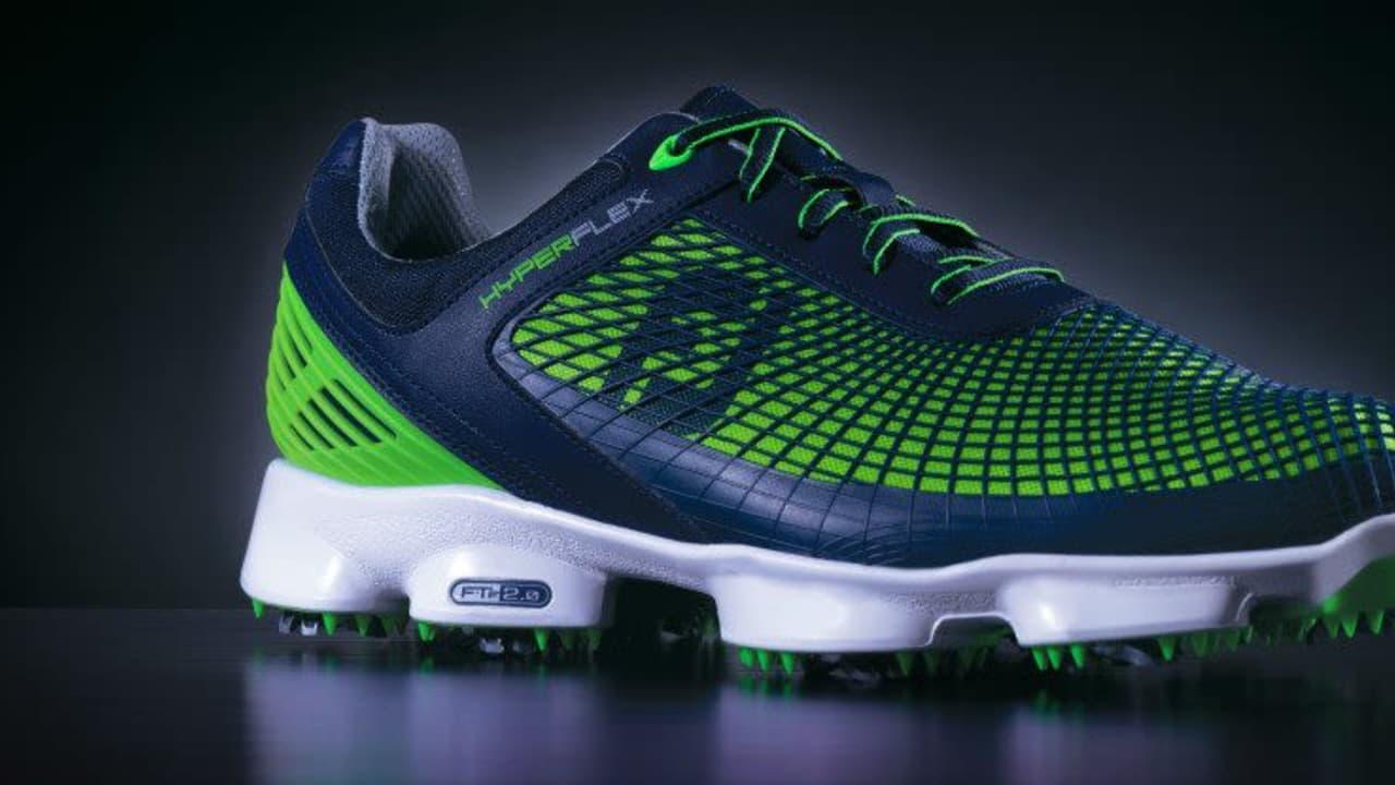 Neues Jahr, neuer Schuh - Branchenprimus Footjoy bringt die Hyperflex-Serie auf den Markt. (Foto: Footjoy)