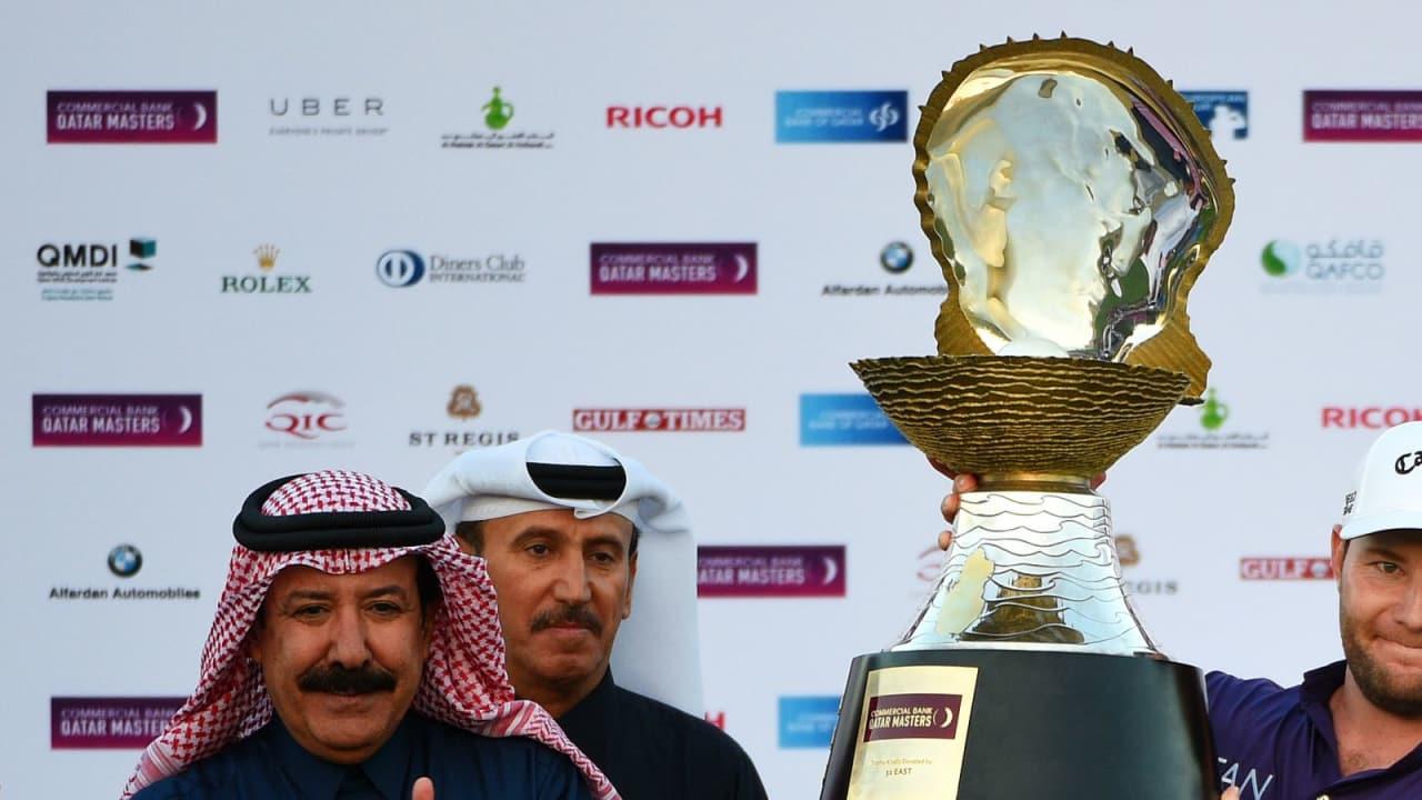 Branden Grace gewinnt das Commercial Bank Qatar Masters