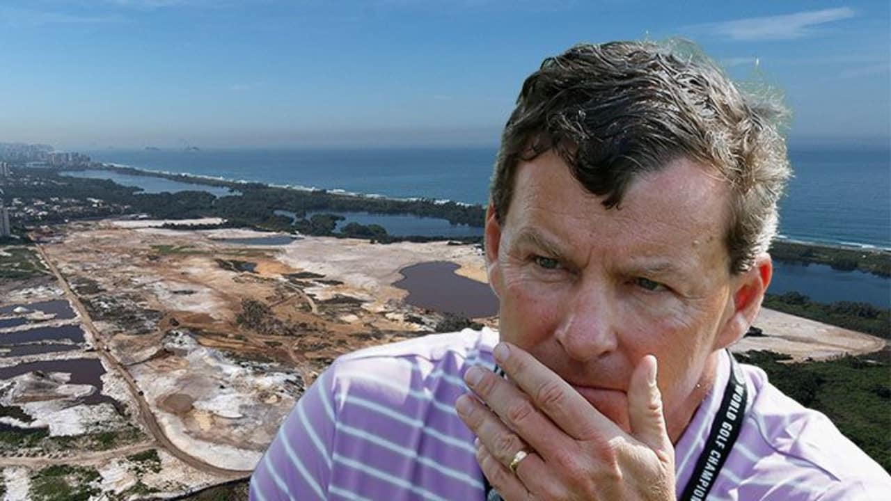 Golfplatz-Architekt Gil Hanse musste in Rio mit vielen widrigen Bedingungen beim Bau des Olympiaplatzes kämpfen.
