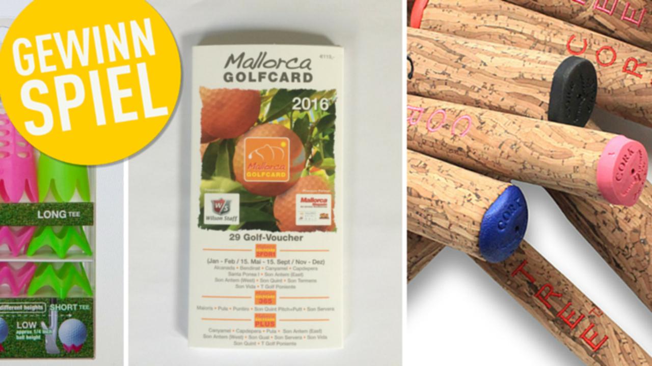 Im Golf Post Gewinnspiel können Sie in dieser Woche gleich 20 verschiedene Preise gewinnen. (Bild: Golf Post)