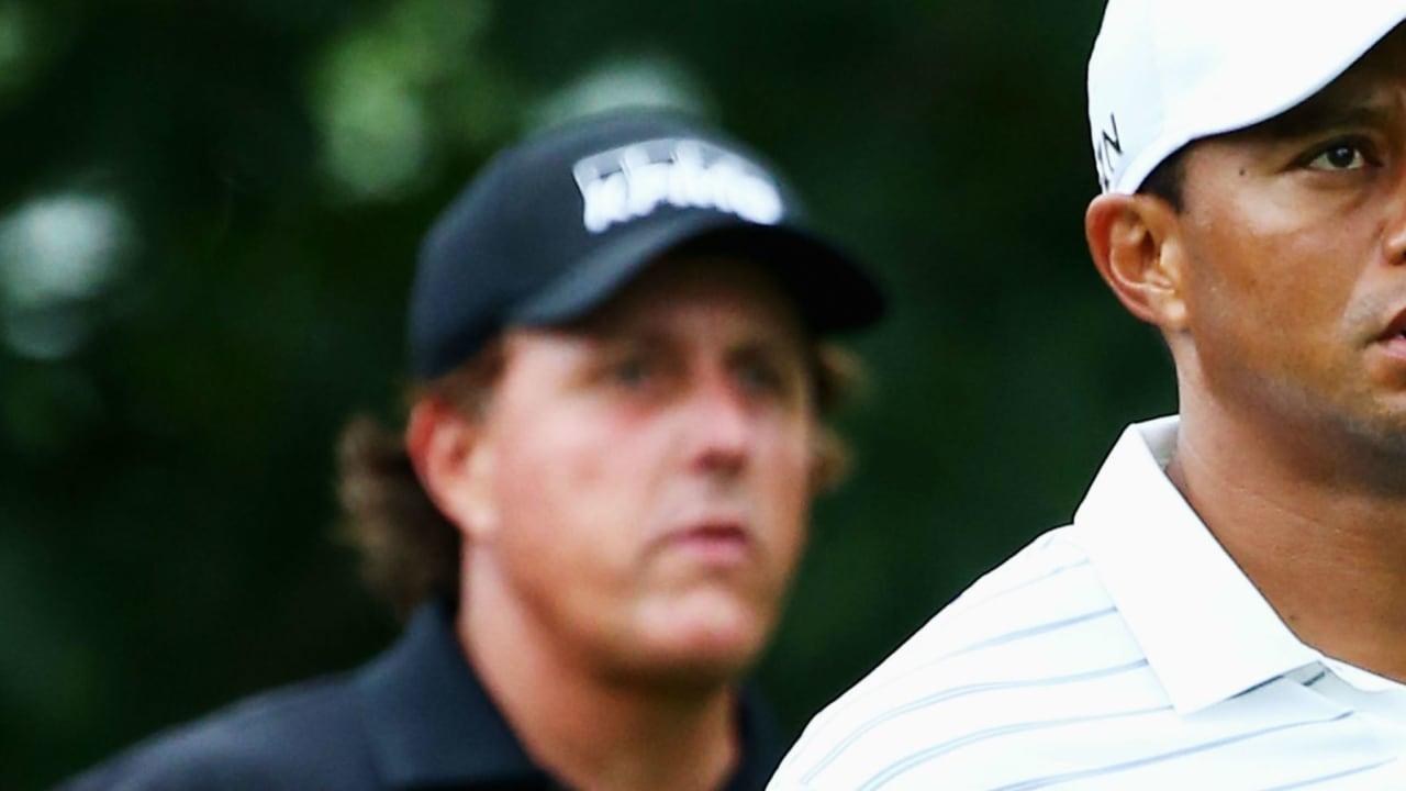 Tiger Woods und Phil Mickelson kämpfen Anfang 2015 beide mit großen Problemen.