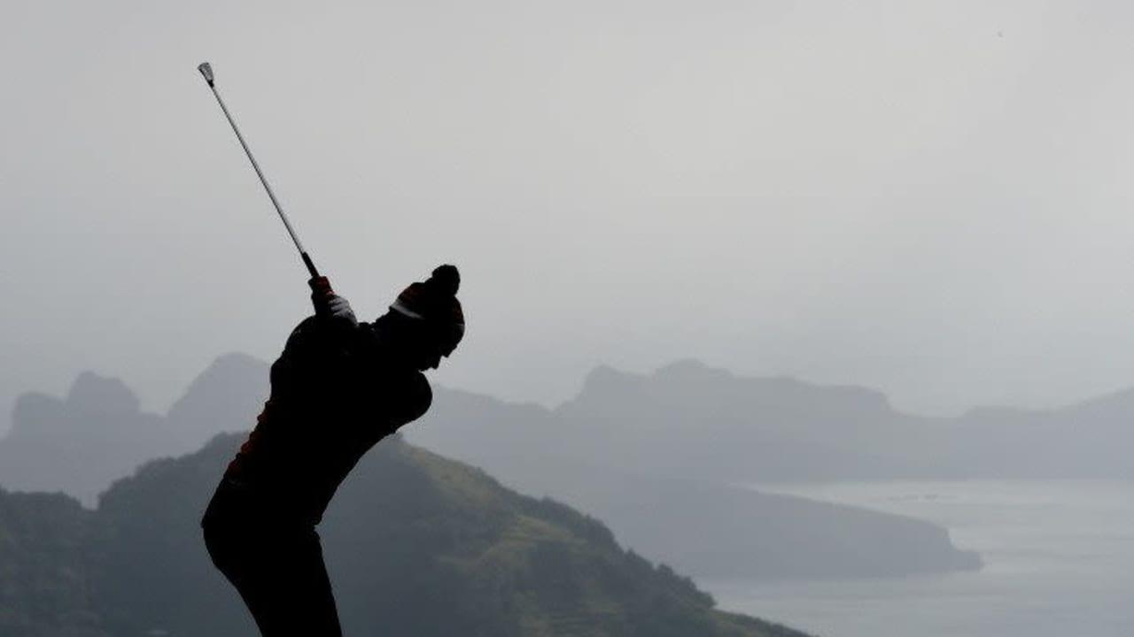 Nichts für Schön-Wetter-Golfer! Die Madeira Islands Open stellen die Pros auf die Probe. (Foto: Getty)