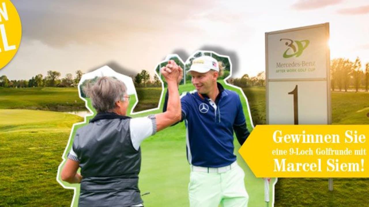 Gewinnspiel: Golfen Sie mit Marcel Siem (Foto: Golf Post)