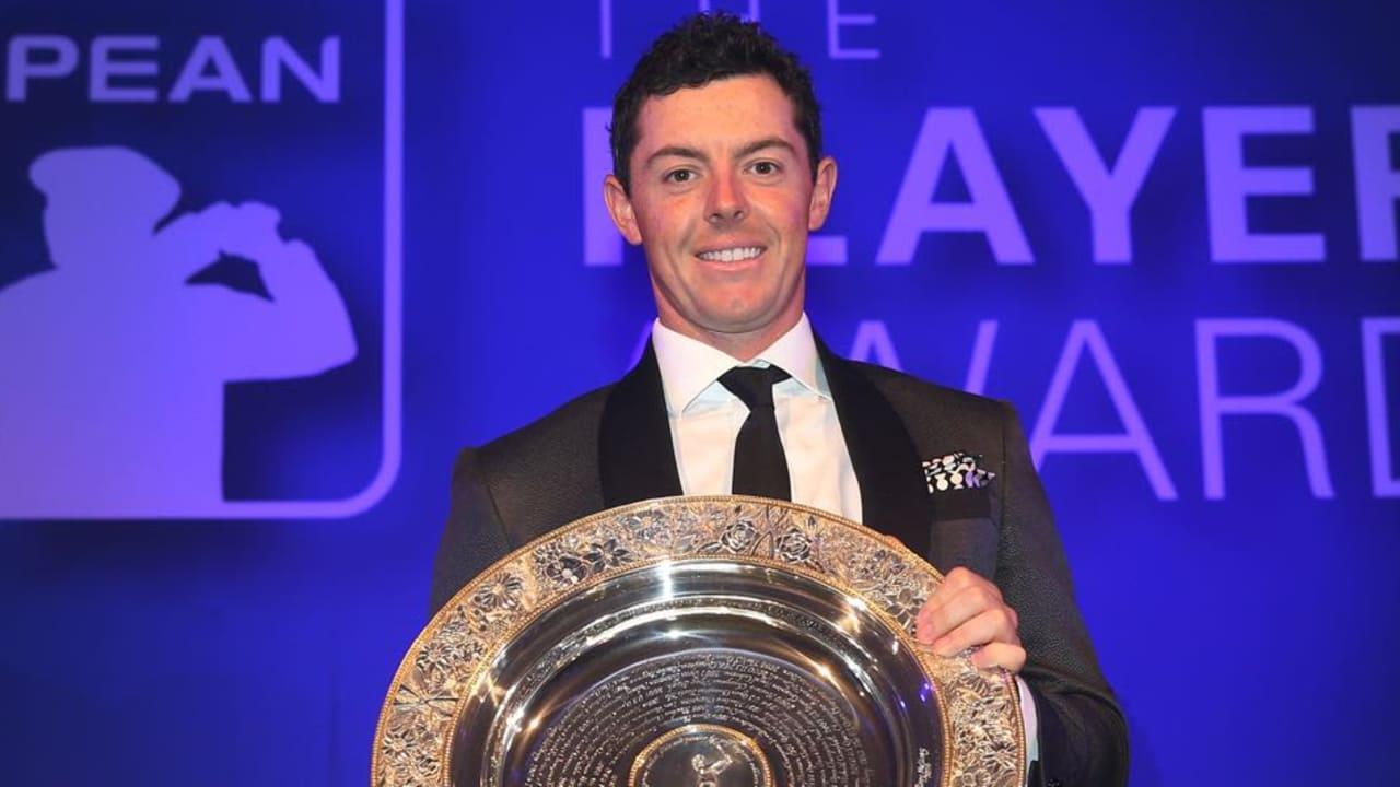 Rory McIlroy ist Spieler des Jahres 2015 auf der European Tour. Der Award wurde ihm am Dientag verliehen. (Foto: Getty)