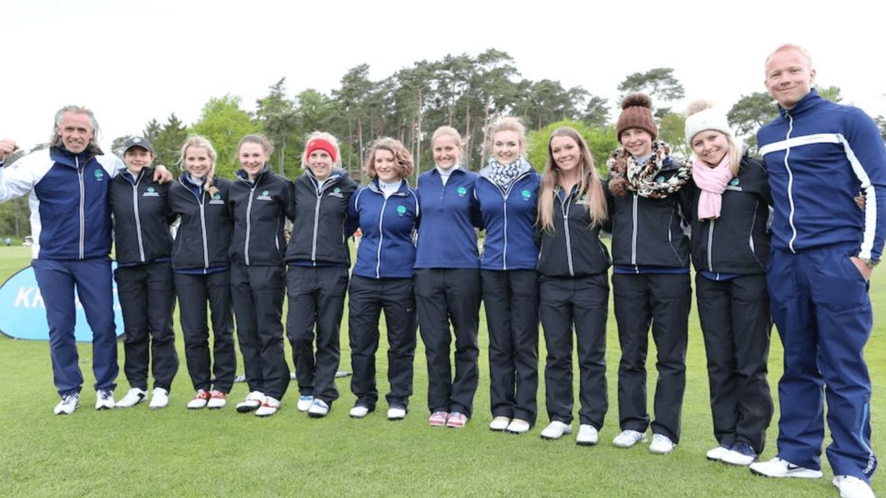 Die Damen des Golfclub Hubbelrath konnten den ersten Spieltag für sich entscheiden. (Foto:DGV/Tiess,Schult)