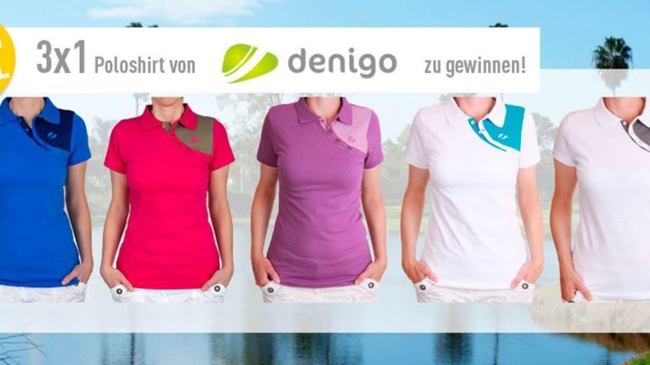 Gewinnen Sie 3x1 Poloshirt von unserem Partner denigo. (Foto: Golf Post)