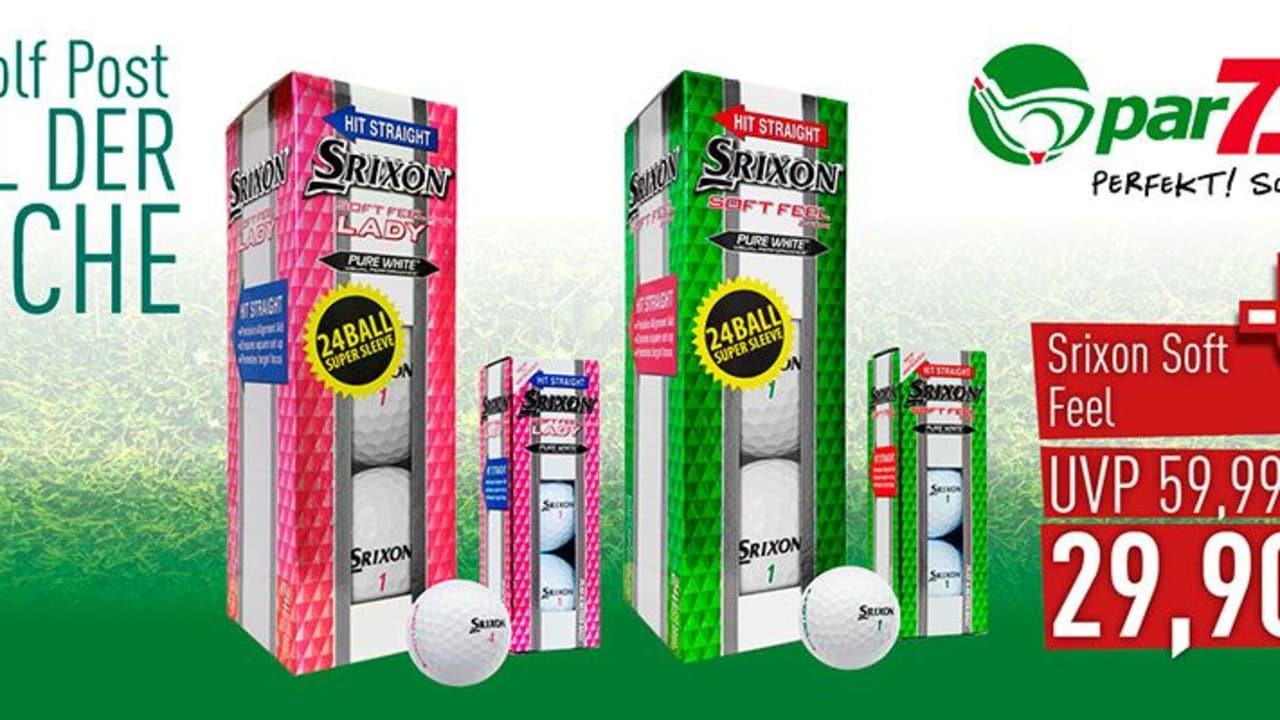 Zwei Dutzend Srixon Golfbälle für 29,90 €! Nur diese Woche und nur bei par71.de (Foto: Golf Post)