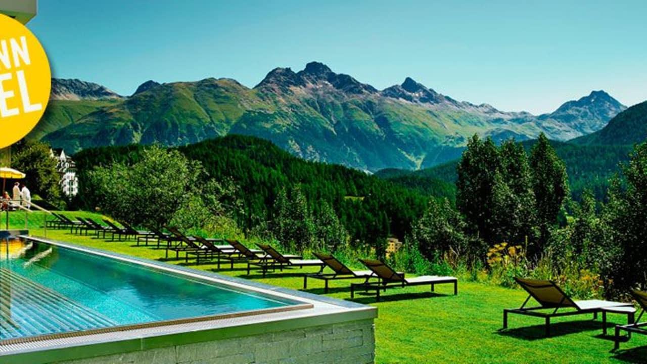 Gewinnspiel: Kulm Hotel St. Moritz (Foto: Kulm Hotel St. Moritz)