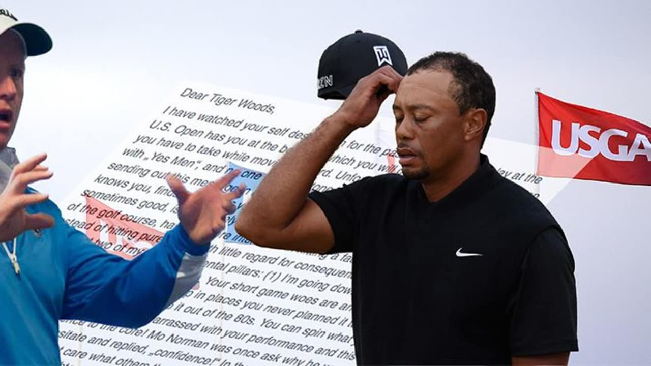 Ted Long wandte sich in einem Brief via Facebook an Tiger Woods.