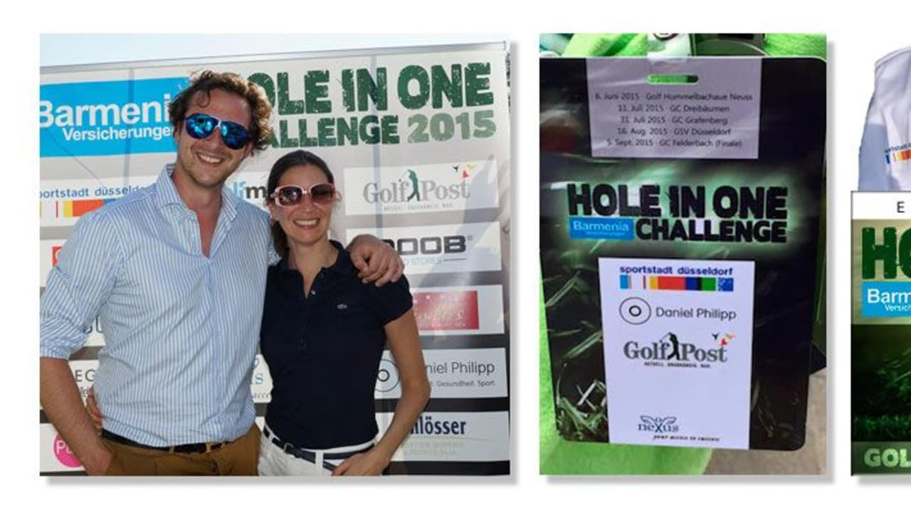 Golf Post ist Medienpartner der Hole in One Challenge 2015