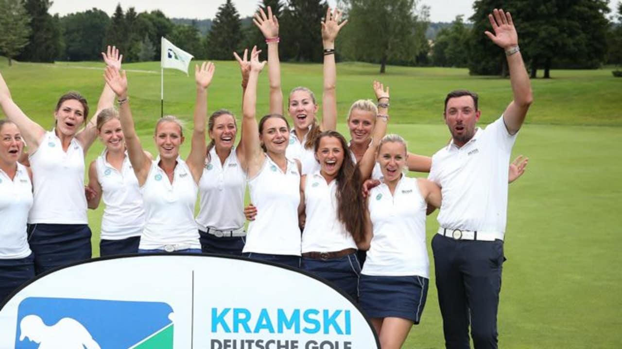Die Damen aus Stuttgart sicherten sich mit ihrer soliden Leistung den Tagessieg. Der letzte Spieltag entscheidet, wer in die zweite Liga absteigt. (Foto: Stefan Heigl)