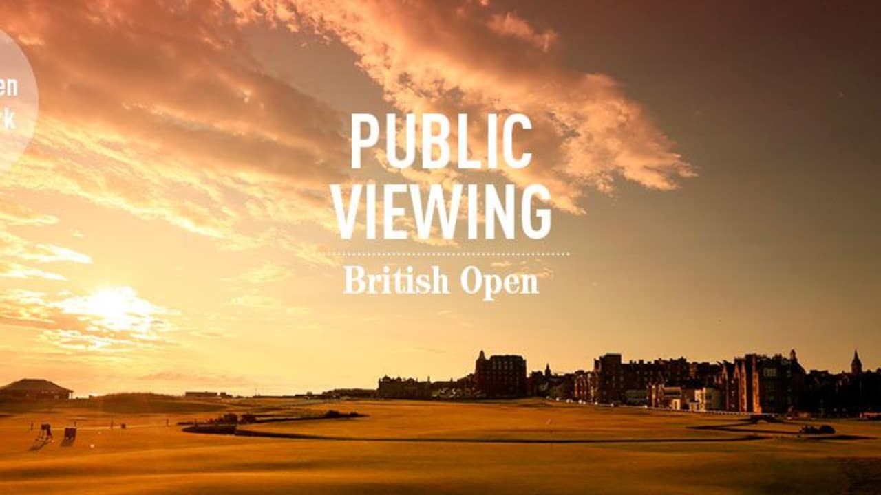 Golf Post Public Viewing der Open Championship 2015 am 19. Juli im Kölner Mediapark. (Bild: Golf Post)