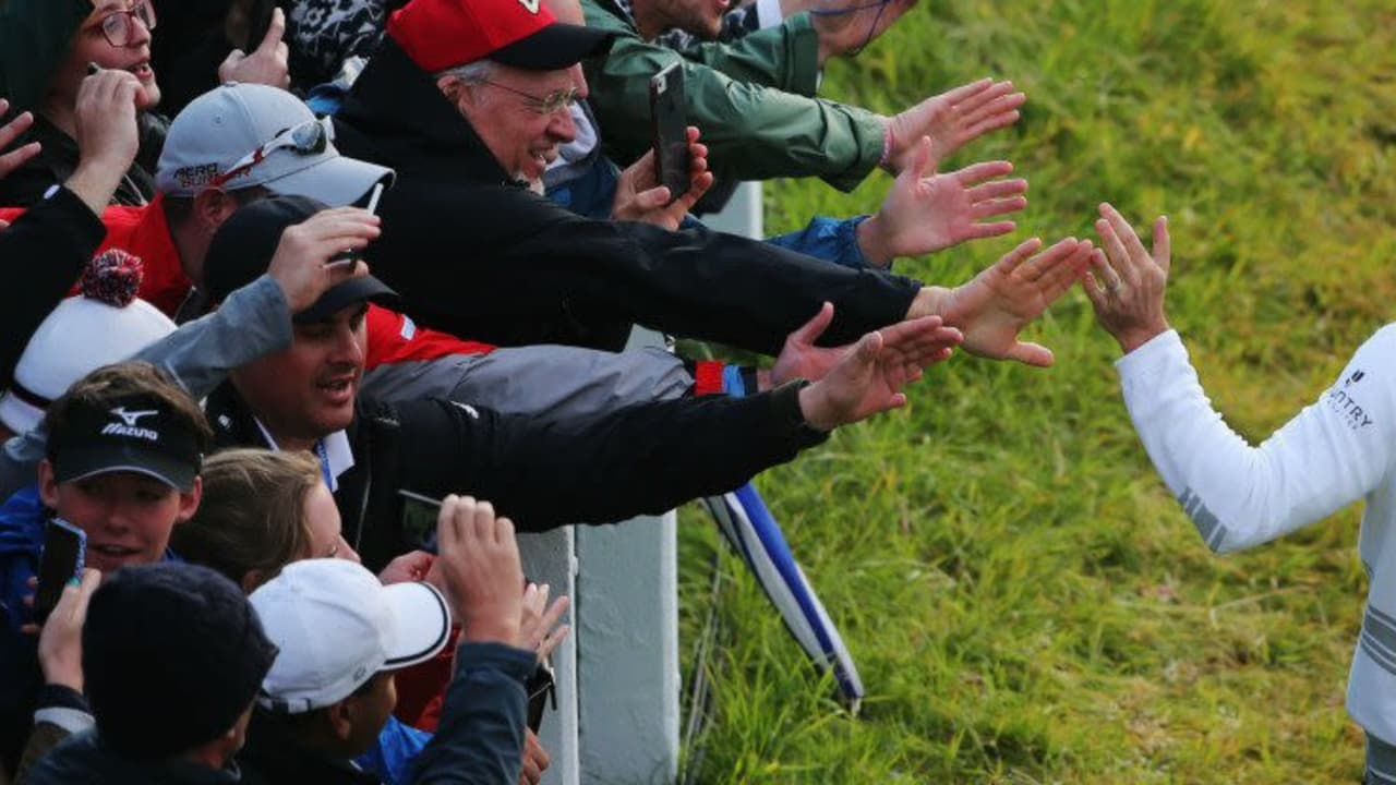Zach Johnson ist der Sieger der Open Championship 2015 in St. Andrews.