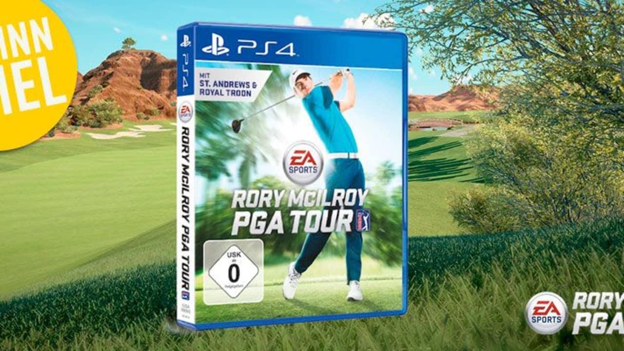 In dieser Woche verlost Golf Post in Kooperation mit EA Sports das neue Rory McIlroy PGA Tour Spiel inkl. einer Playstation 4. (Foto: Golf Post)