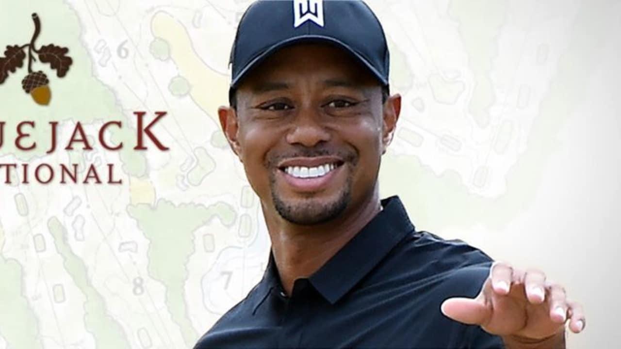 Tiger Woods eröffnet den ersten von ihm designten Golfplatz in den USA.