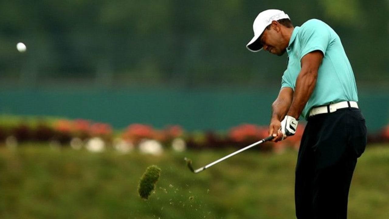 Auf dem Par-70-Kurs der Greenbrier Classic spielte Tiger Woods die beste Runde seit März 2014. (Foto: Getty)