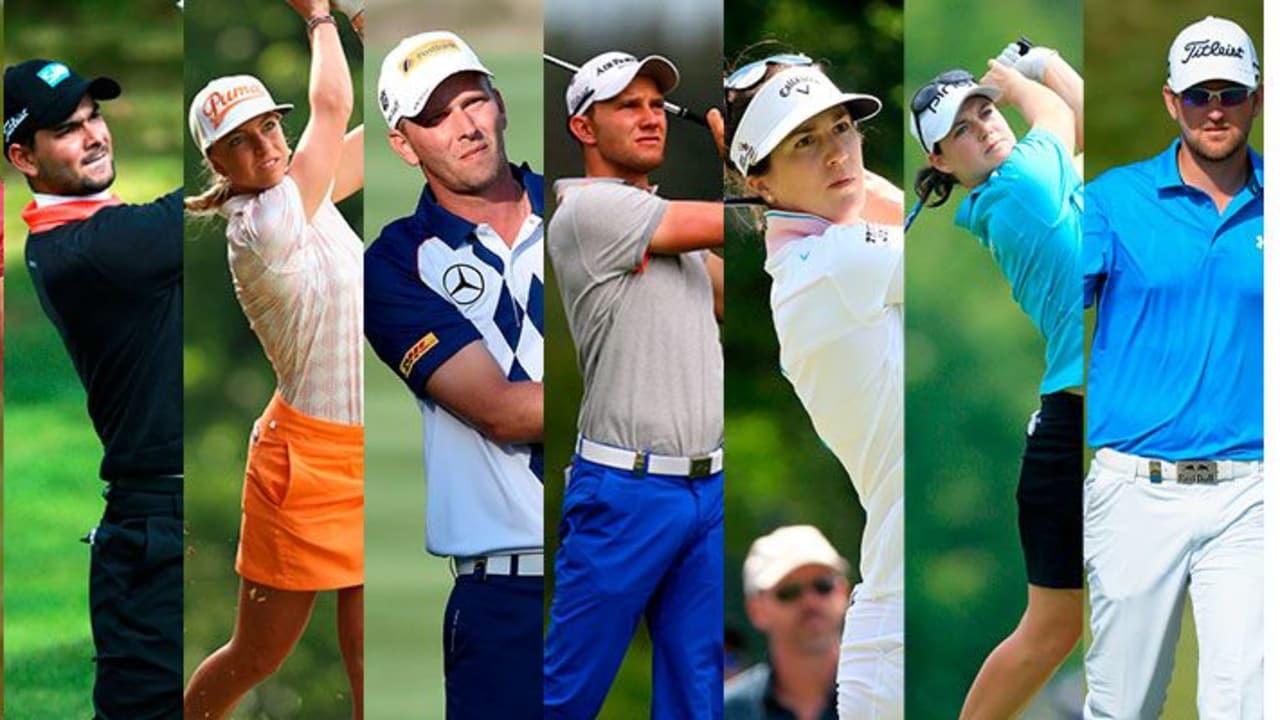 Die deutschen Golf-Stars in der Golf Post Halbzeit Analyse. (Fotos: Getty)