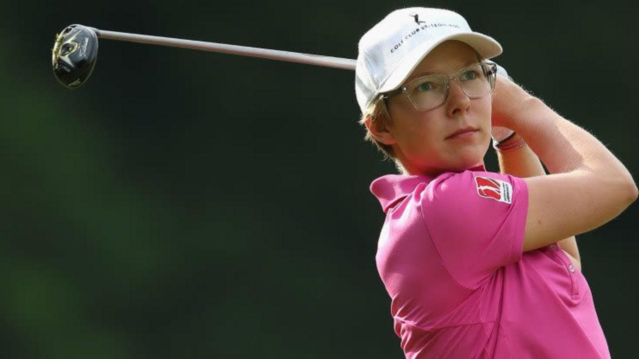 Für Ann-Kathrin Lindner hat es beim Golf Masters in diesem Jahr nicht für den Sieg gereicht. (Foto: Getty)