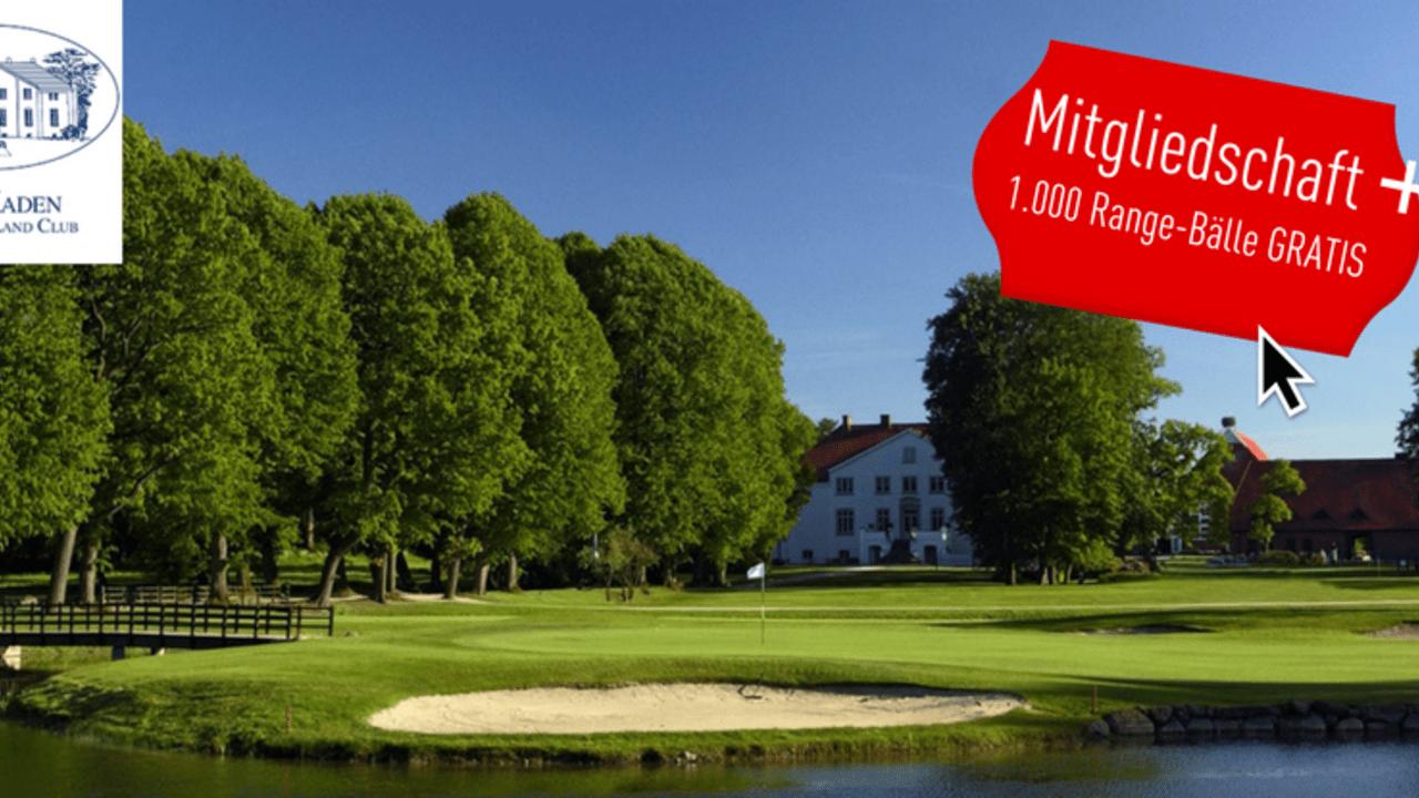 Als Golf Post Leser bekommen Sie beim Abschluss einer 9 x 3 Mitgliedschaft bei Gut Kaden 1.000 Range-Bälle geschenkt! (Foto: Gut Kaden)