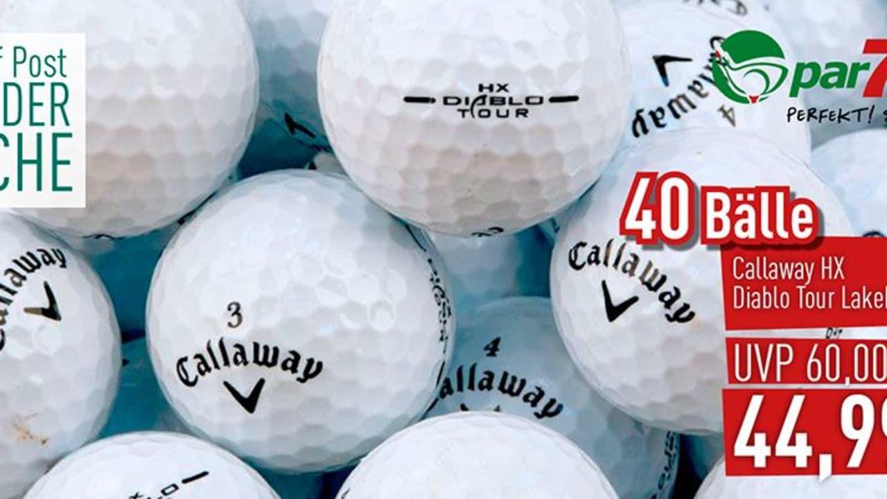 Im Deal der Woche mit par71.de: Callaway HX Diablo Tour Lakeballs. (Bild: Golf Post)