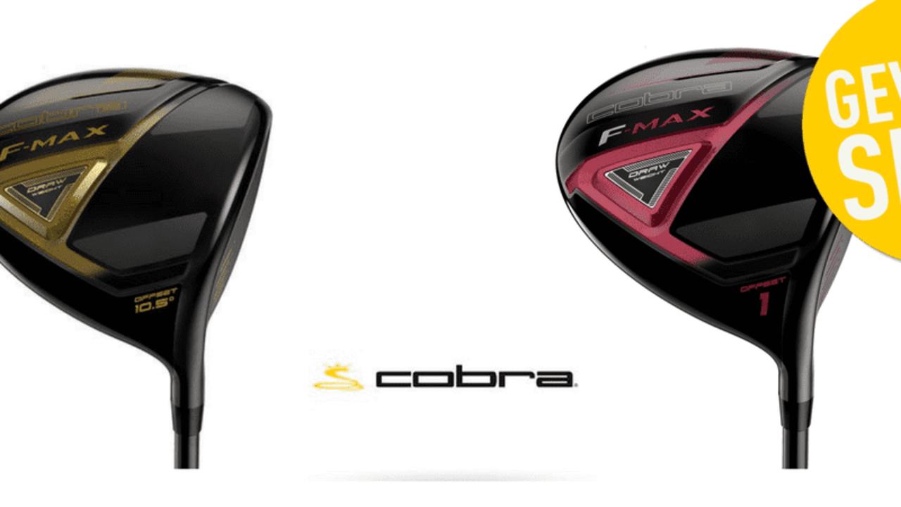 Jetzt einen F-MAX Driver von Cobra gewinnen! (Foto: Cobra Golf)