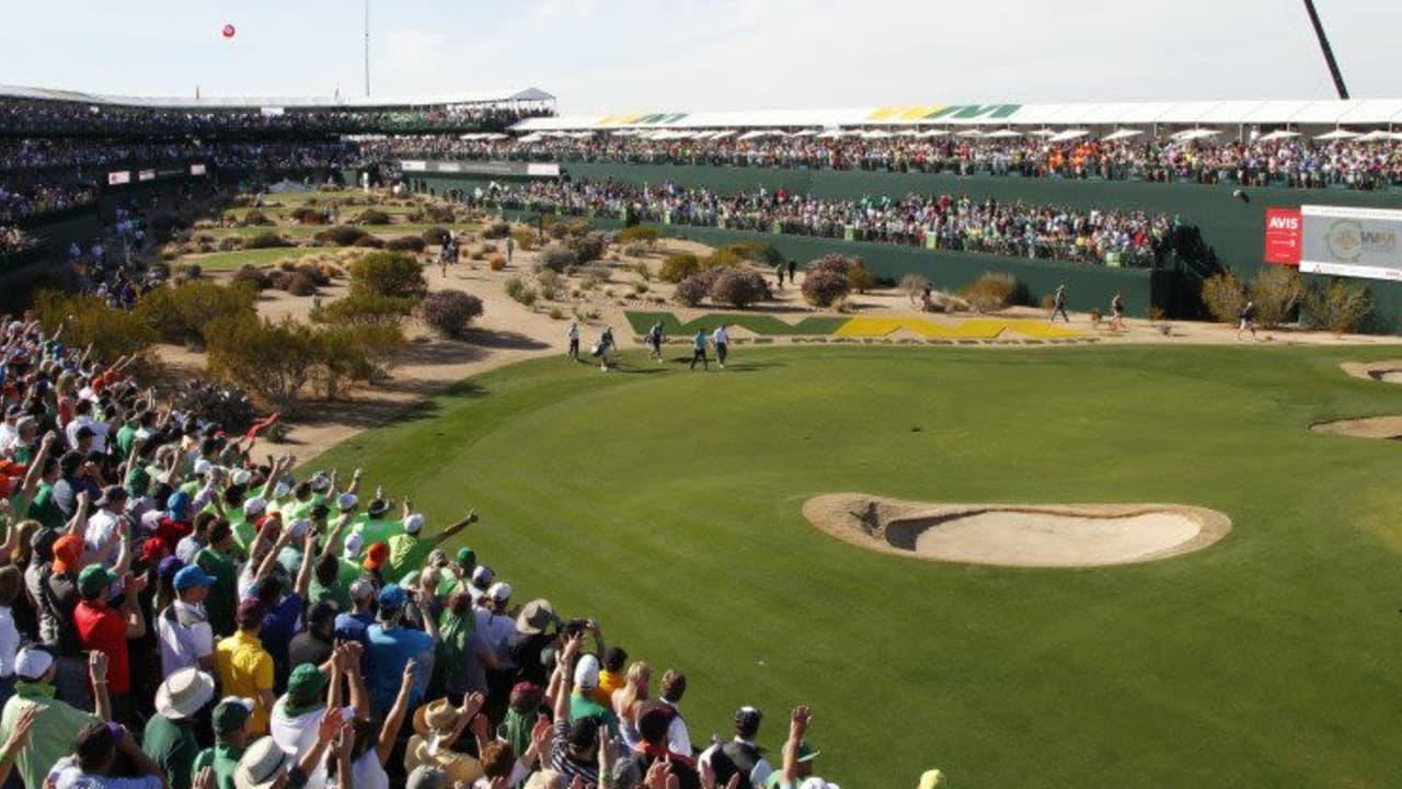Eine Verdopplung des 16. Partyloches der Phoenix Open ist in Planung. (Foto: Getty)