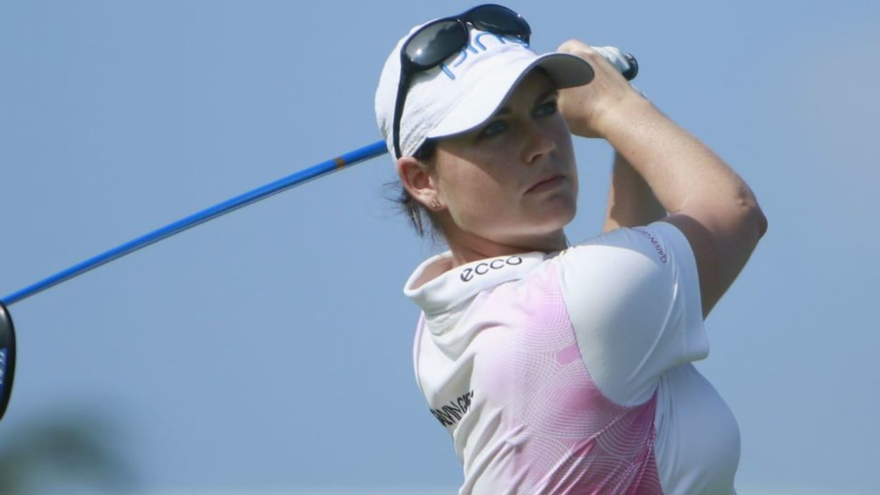 Caroline Masson spielte sich im ersten Jahr der Blue Bay LPGA auf den zweiten Platz. (Foto: Getty)