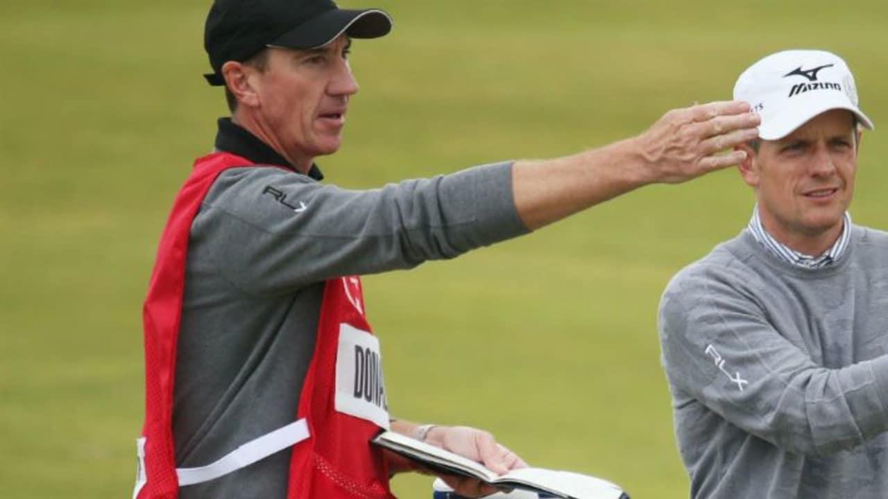 Luke Donald (r.) und sein Caddie John McLaren gehen zukünftig getrennte Wege.