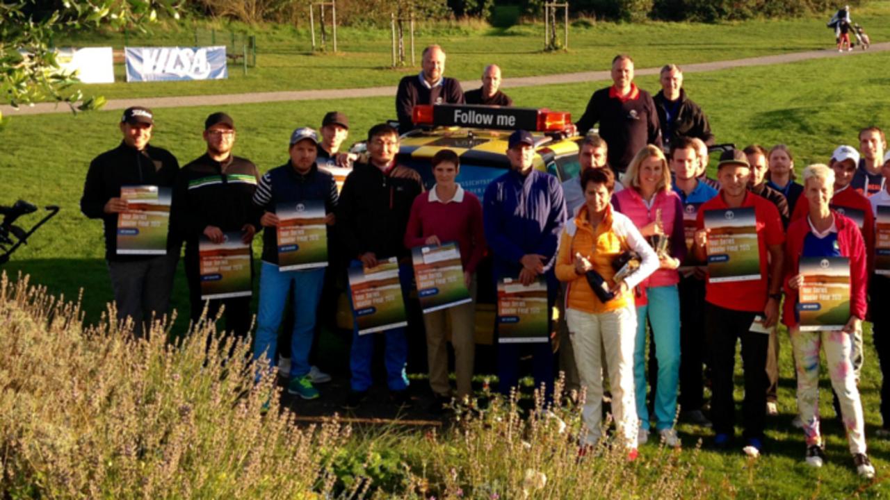 Die glücklichen Gewinner des Tour Series Shoot Out. Für Sie geht es auf Lanzarote um den Titel. (Foto: Tour Series)