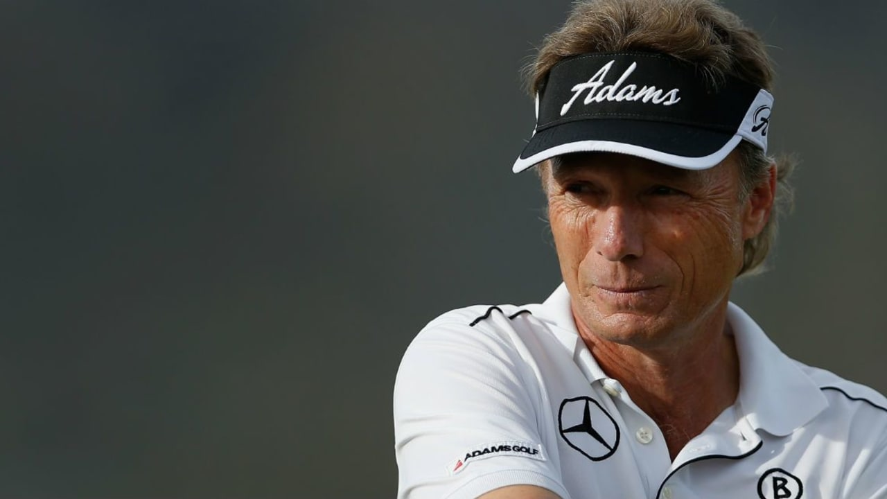 Das Ziel fest im Visier: Bernhard Langer geht mit breiter Brust ins Saisonfinale der Champions Tour. (Foto: Getty)