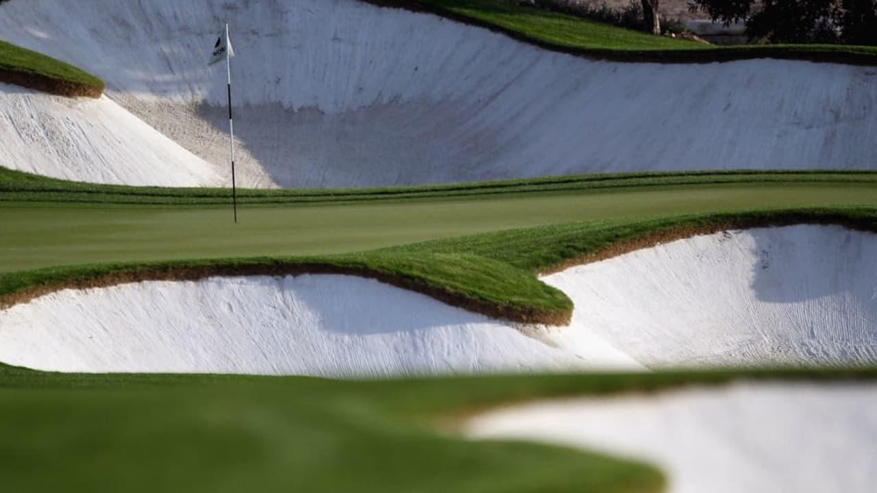 Noch einmal antreten, dann ist die European-Tour-Saison 2015 Geschichte. Wer sich den Titel wohl holt? Entschieden wird's auf dem Earth Course (Bild) des Jumeirah Golf Estates. (Foto: Getty)