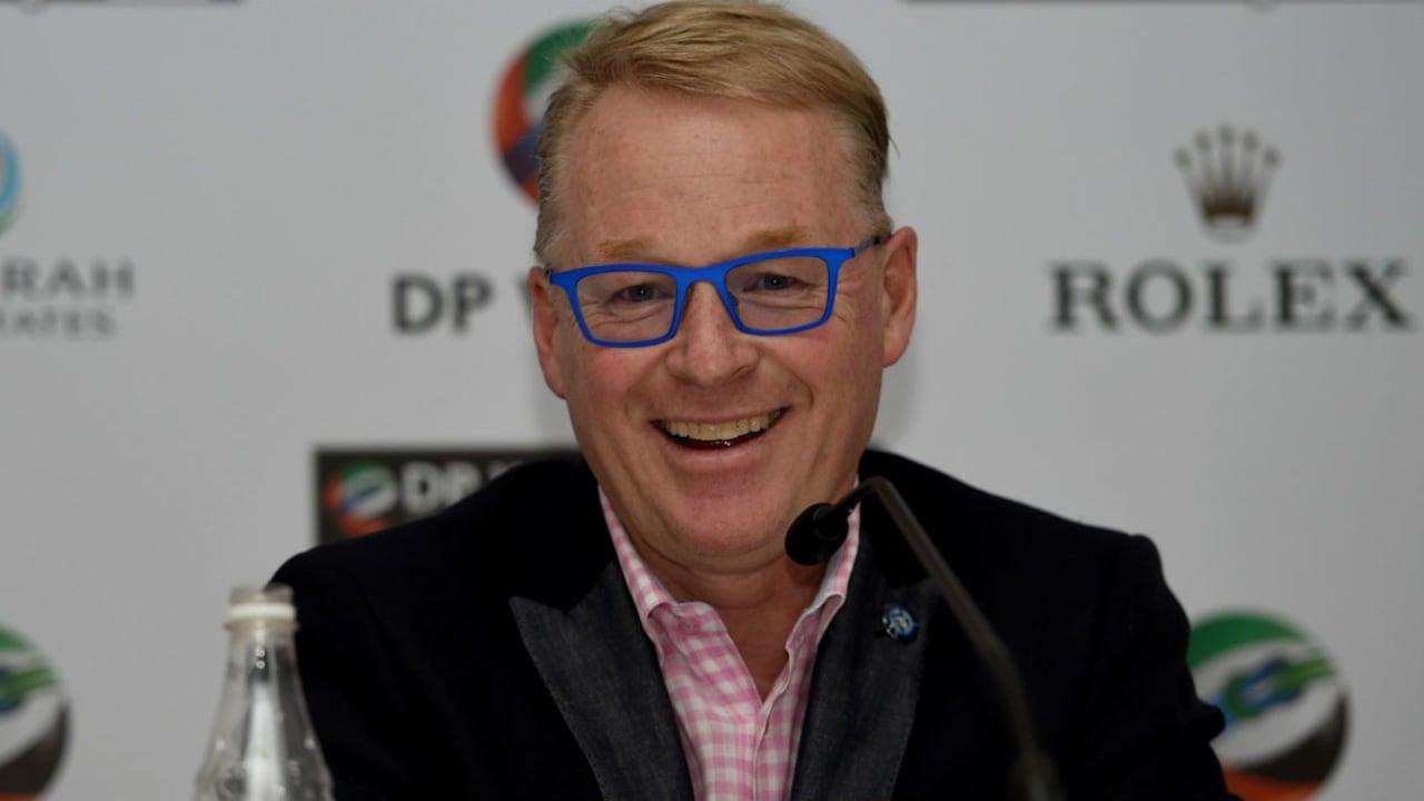 Der European-Tour-Geschäftsführer Keith Pelley gab am 17.11.2015 neue Regelungen für 2016 bekannt. (Foto: Getty)