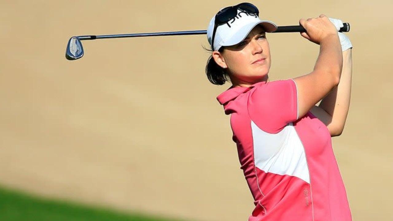 Caroline Masson wird beste Deutsche beim Dubai Ladies Masters. (Foto: Getty)
