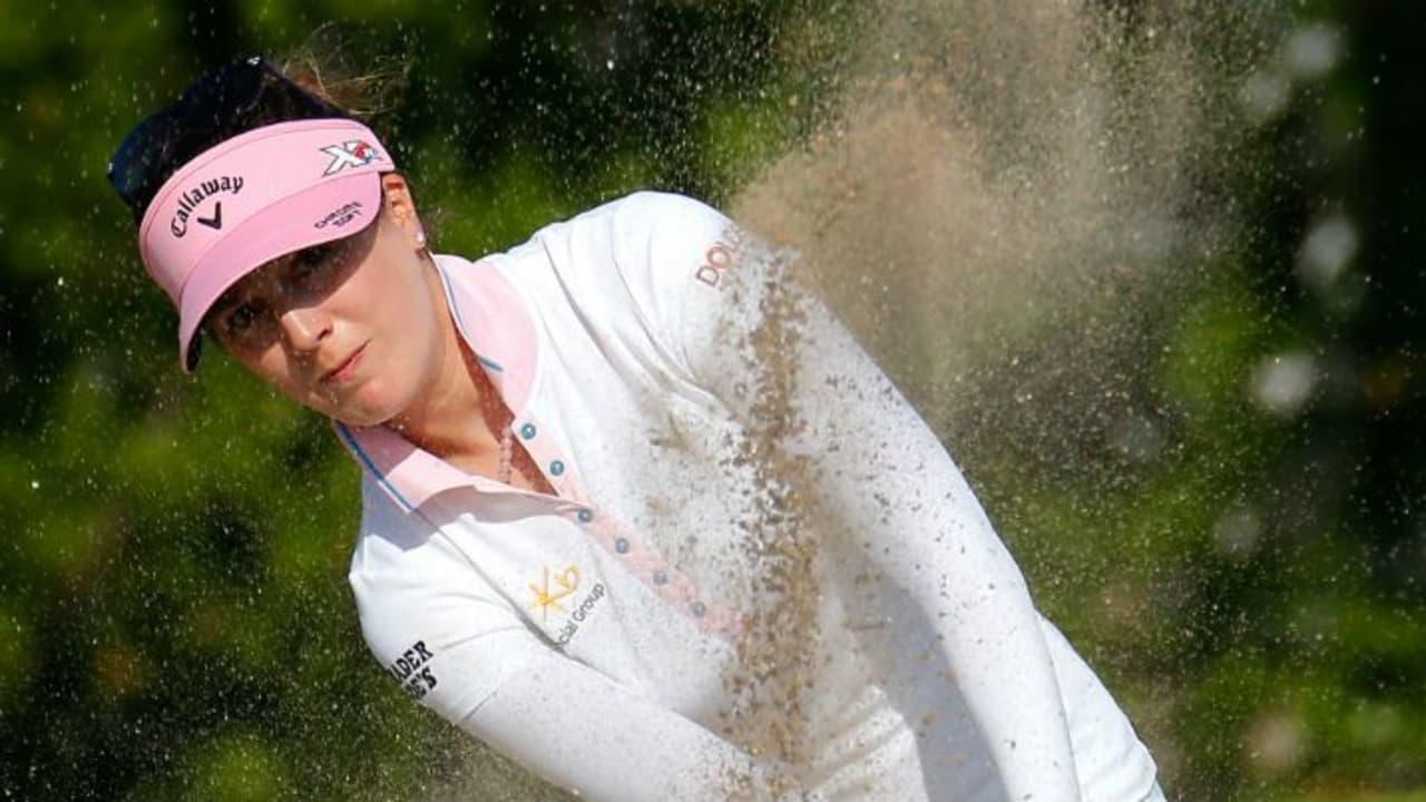 Sandra Gal kommt beim ersten Turnier der Saison - der Pure Silk Bahamas LPGA Classic - noch nicht in Fahrt. (Foto: Getty)