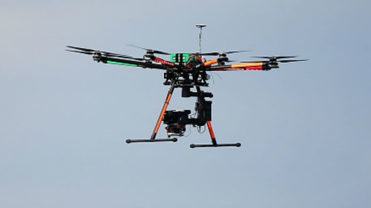Bald keine Seltenheit mehr? Drohnen über dem Golfplatz, wie beim PGA Championship am Lake Michigan, könnten zur Gewohnheit werden. (Foto: Getty)