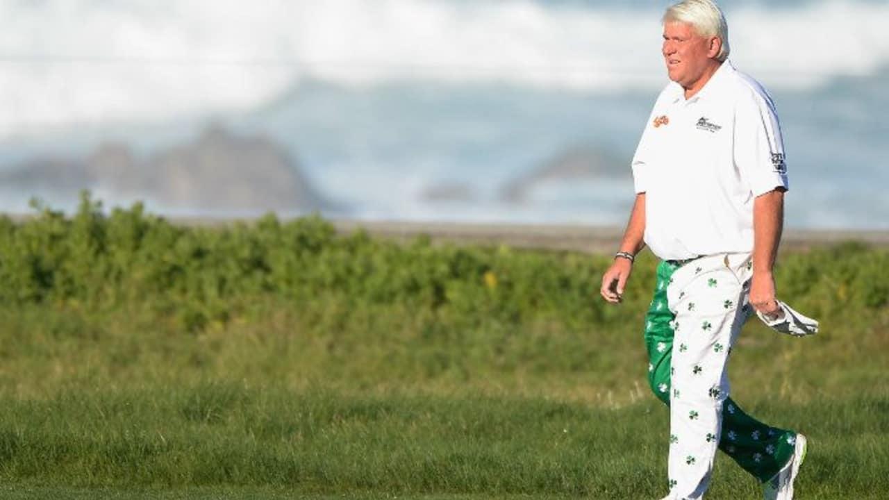 John Daly ist besonders für seine ausgefallene Hosengarderobe bekannt. (Foto: Getty)