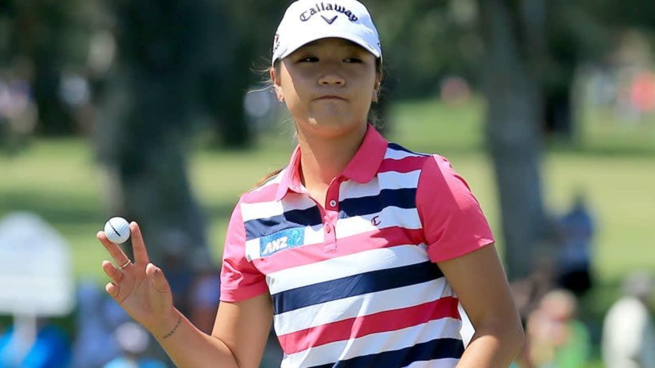 Lydia Ko ist beste Golferin der Welt, von einem Nicht-Profi wurde sie dennoch ordentlich unter Druck gesetzt. (Foto: Getty)