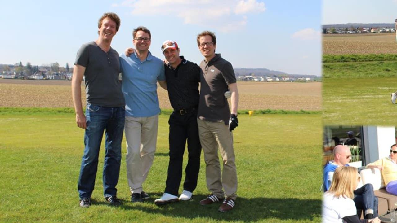 Viel Spaß und lachende Gesichter: Das war das Golf Post Masters Special. (Foto: Golf Post)