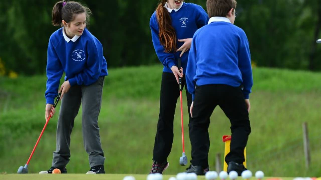 Großes Know-how für kleine Golfer - Golfmaniacs hat sich auf Golf-Equipment für Kinder spezialisiert. (Foto: Getty)