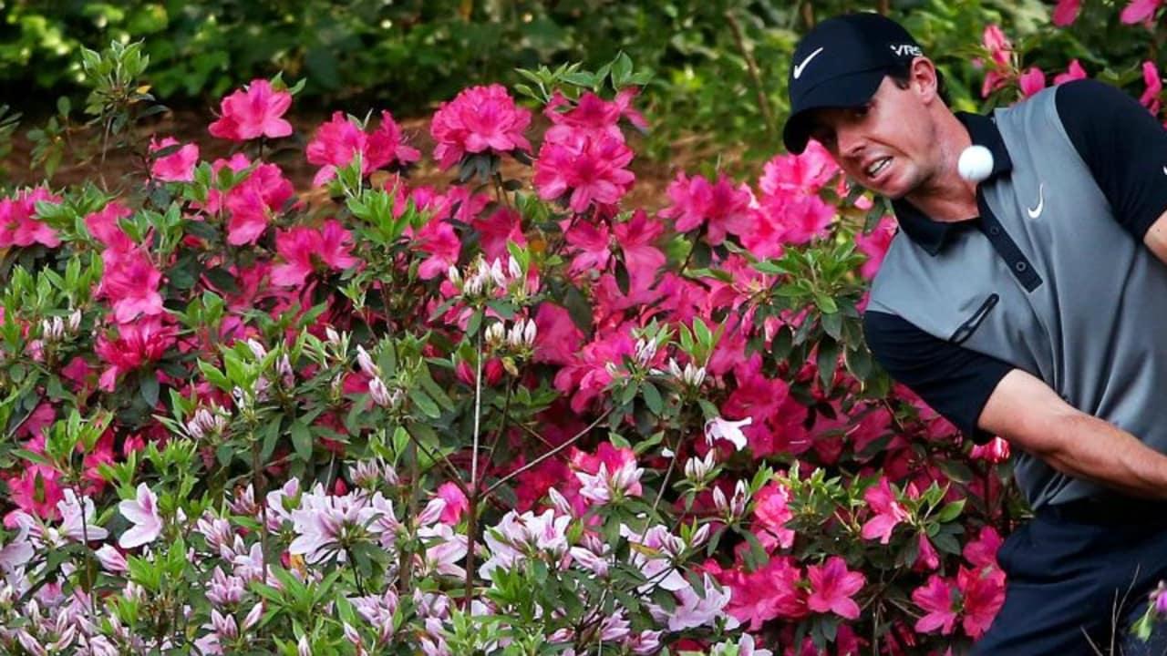 Rory McIlroy verspielte 2011 seine Führung am Finaltag des Masters durch eine 80er Runde, bei der er des öfteren aus dem