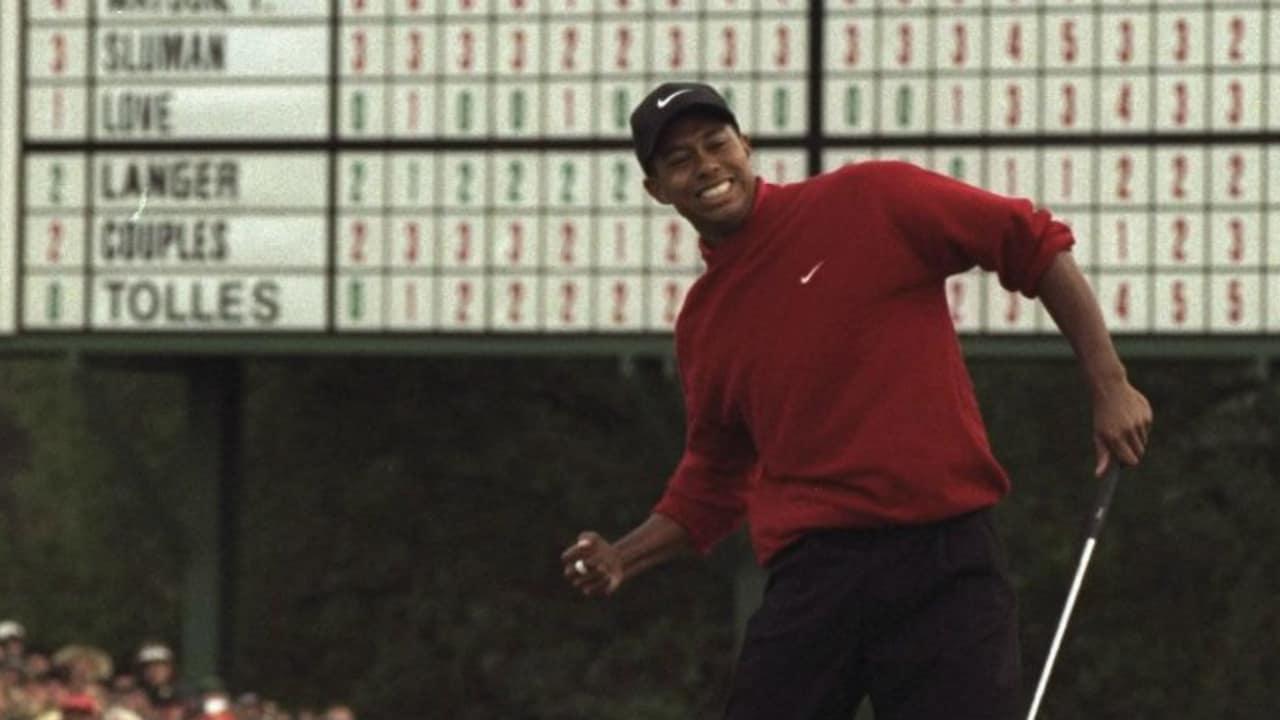 Tiger Woods holte sich vor 19 Jahren seinen ersten Masterssieg. (Foto: Getty)