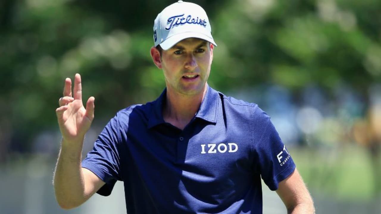 Webb Simpson wird als Führender in den Moving Day des Dean & Delura Invitational starten, der direkt im Anschluss an die zweite Runde beginnt. (Foto: Getty)