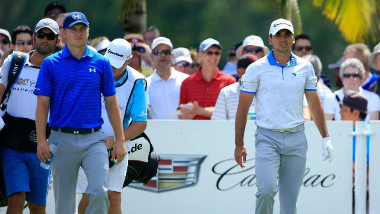 Jordan Spieth, Jason Day und Rory McIlroy schlagen alle beim Memorial Tournament auf der PGA Tour ab. (Foto: Getty)