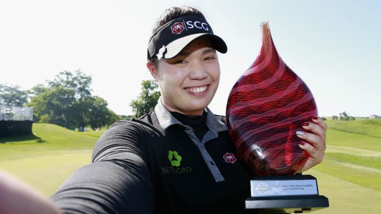 Die erste thailändische Siegerin auf der LPGA Tour: Ariya Jutanugarn. (Foto: Getty)