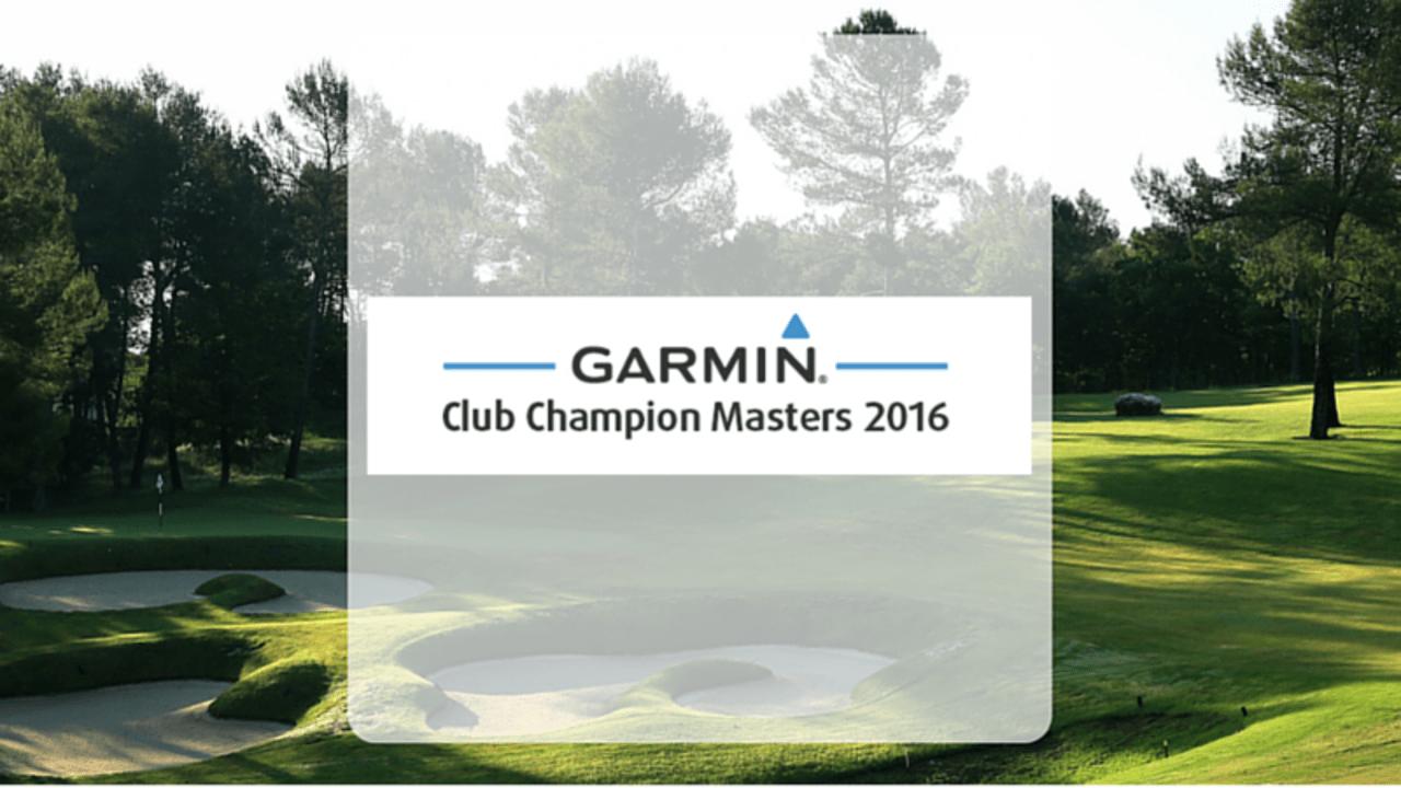 Garmin Club Champion Masters (Foto: Golf Post)