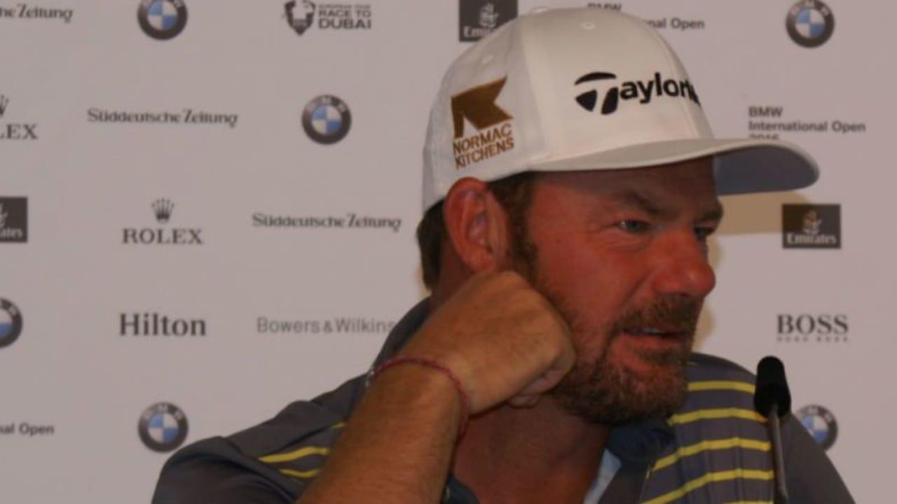 Alex Cejka sprach mit Golf Post über eine Verletzungsmisere, Olympia und die deutschen Golffans. (Foto: Golf Post)