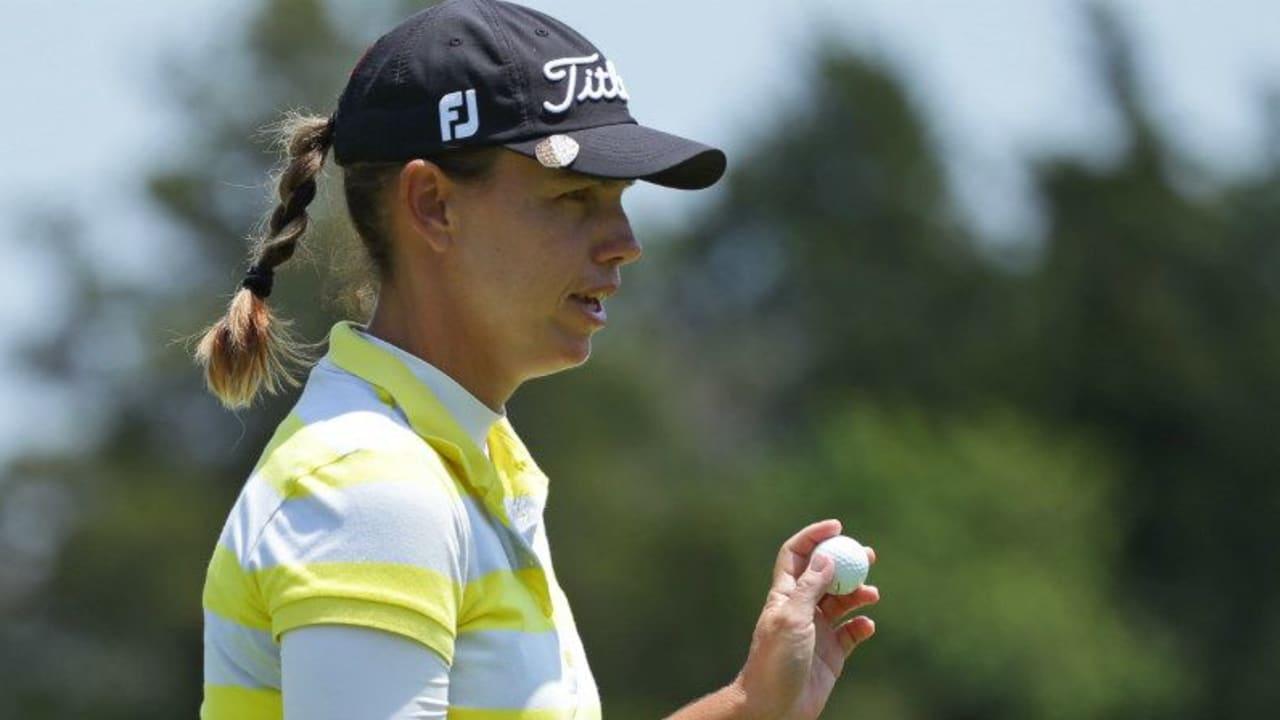Karine Icher könnte bei der ShopRite LPGA Classic ihren ersten Tour-Sieg einfahren. (Foto: Getty)